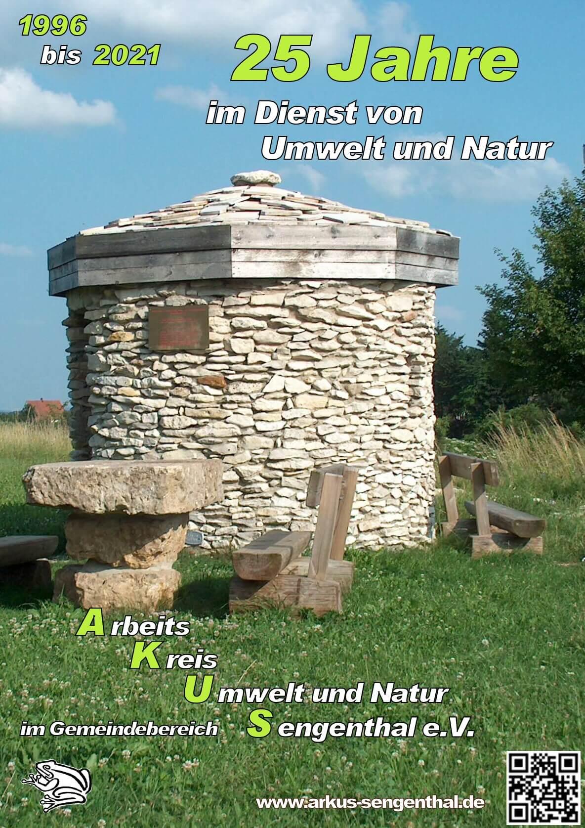 Broschüre 25 Kahre Arbeitskreis Umwelt und Natur